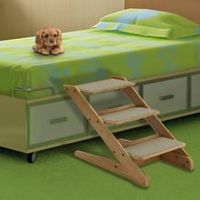 Take 3-Step Wood Pet Stool