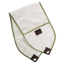 Tall Tails Pocket Dog Towel - Cream and Sage