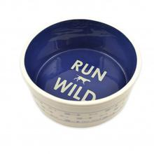 Tall Tales Run Wild Dog Bowl
