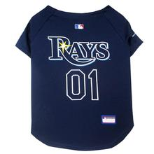 Tampa Bay Rays Officially Licensed Dog Jersey - Navy Blue