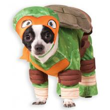 Teenage Mutant Ninja Turtle Dog Costume - Michelangelo