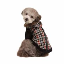 Tessell Hooded Dog Jacket by Puppia - Black