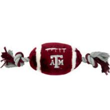 Texas A&M Plush Football Dog Toy