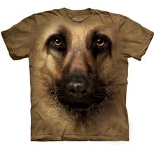 The Mountain Human T-Shirt - German Shepherd Face