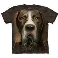 The Mountain Human T-Shirt - German Shorthaired Pointer Head
