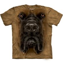 The Mountain Human T-Shirt - Mastiff Face