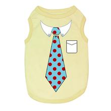 Tie Dog Tank by Parisian Pet - Yellow
