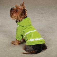Tie Dye Dog Hoodie - Parrot Green