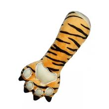 Tiger Claw Plush Dog Toy by Hip Doggie