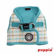 Tot Dog Harness Vest by Puppia - Aqua