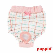 Tot Dog Sanitary Pants by Puppia - Peach