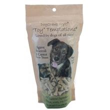 Toy Temptations Dog Treats - Agave, Broccoli, and Carrot