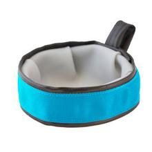 Trail Buddy Portable Dog Bowl by Cycle Dog - Blue