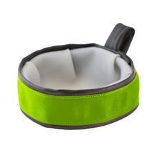 Trail Buddy Portable Dog Bowl by Cycle Dog - Green