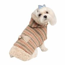 Twilight Hooded Dog Cape by Pinkaholic - Beige