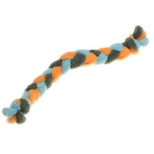 Twist Braided Dog Tug Toy - Orange
