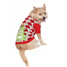 Ugly Christmas Dog Sweater - Happy Tree