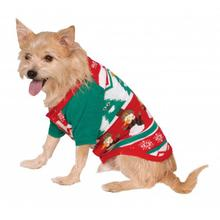 Ugly Christmas Dog Sweater - Snowman Snowflake