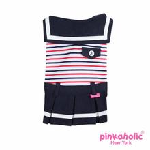 Ula Dog Dress by Pinkaholic - Navy