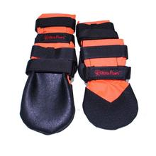 Ultra Paws Rugged Dog Boots - Orange