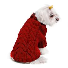 Urban Knit Dog Sweater - Red