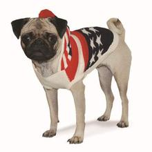 USA Flag Hooded Dog Sweater by Dogo