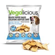 Vegalicious Popped Snack Dog Treat - Garden Harvest