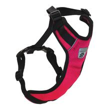 Vented Vest Car Seat Dog Harness - V2 Raspberry