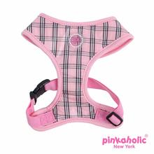 Victorian Adjustable Dog Harness by Pinkaholic - Pink