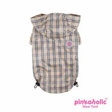 Victorian Dog Raincoat by Pickaholic - Beige