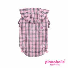 Victorian Dog Raincoat by Pickaholic - Pink