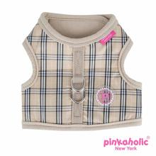 Victorian Pinka Dog Harness by Pinkaholic - Beige