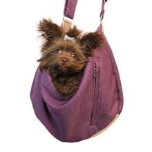 Vienna Sling Pet Carrier by Hello Doggie - Plum