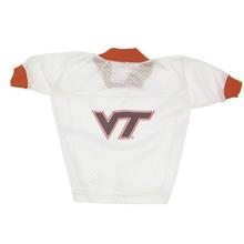 Virginia Tech Hokies Dog Jersey - VT on White