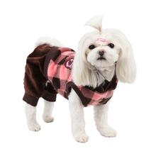 Waffle Dog Jumpsuit by Puppia - Brown