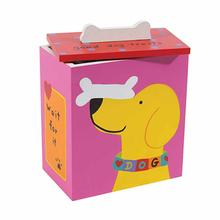 Hand Painted Dog Treat Box by Up Country - Pink