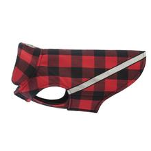 West Coast Dog Rainwear - Red Buffalo Plaid