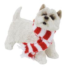 West Highland White Terrier Christmas Ornament