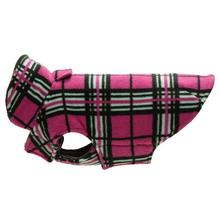 Whistler Winter Dog Coat - Raspberry Tartan