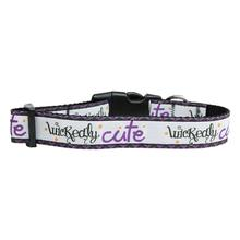 Wickedly Cute Dog Collar
