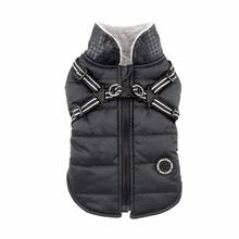 Winter Storm Dog Vest by Puppia - Black