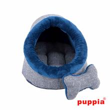 Witta Cave Dog Bed by Puppia - Navy
