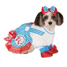 Wizard of Oz's Dorothy Dog Halloween Costume