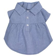 Worthy Dog Chambray Dog Dress