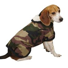 Camo Tough Barn Dog Coat - Green
