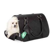 Zack & Zoey Basketweave Pet Carrier