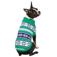 Chalet Dog Sweater - Green