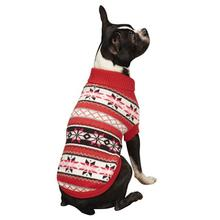 Chalet Dog Sweater - Pink