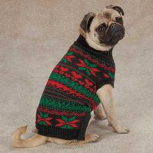 Zack & Zoey Classic Holiday Dog Sweater