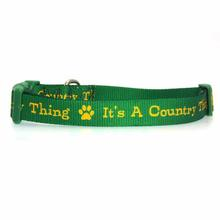 Zack & Zoey Country Thing Dog Collar